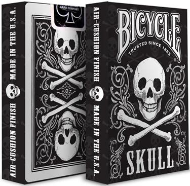【USPCC 撲克】BICYCLE skull by USPCC 骷髏撲克牌