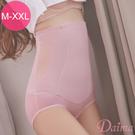 束褲  350D封殺小腹 超高腰雙層縮腰提臀塑褲M-XXL(豆沙)【Daima黛瑪】