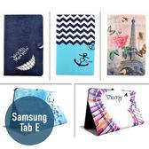 SAMSUNG 三星 Galaxy Tab E T375 彩繪皮套 側翻皮套 平板套 平板殼 保護套 可愛 卡通 皮套