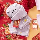 舒柔纖維浴帽-無尾熊-生活工場