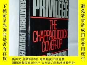 二手書博民逛書店Senatorial罕見Privilege:The Chapaq