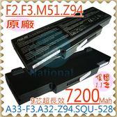 藍天電池(九芯超長效)-CLEVO電池 M660,M661,M665,BATSQU528,CBPIL72,CBPIL73,BATEL80L6,90-NIA1B1000