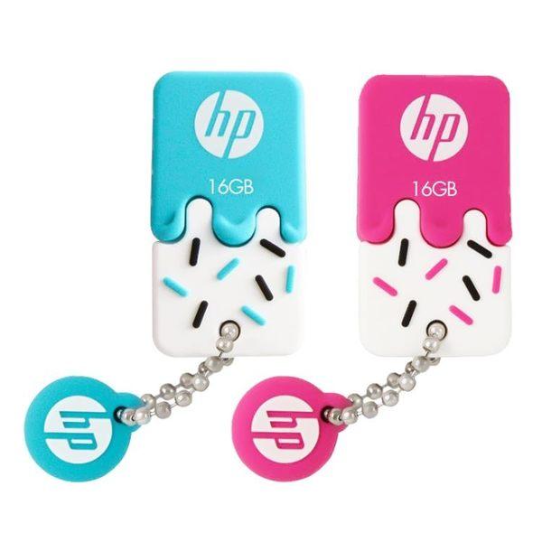 HP/惠普 v178b/p 可愛情侶雪糕U盤系列 16G 迷你便攜防水閃存盤