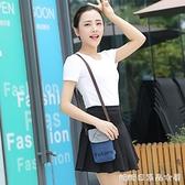 夏天新款手機袋子布袋便攜放手機包女包斜背包裝迷你掛脖小包包 糖糖日繫森女屋
