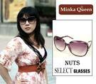 Minka Queen 紫色豹紋框(抗UV400)時尚百搭太陽眼鏡