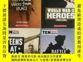 二手書博民逛書店TEN罕見TRUE TALES【WAR HEROES,TEENS