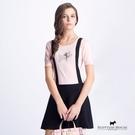 假吊帶裙造型針織洋裝 Scottish ...