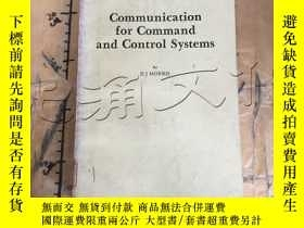 二手書博民逛書店Communication罕見for Command and C