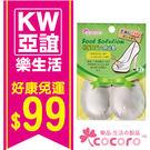 【COCORO樂品】真皮腳中墊 2枚|鞋墊 男女鞋通用 愛護足部 護足小物