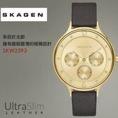 【人文行旅】SKAGEN |北歐超薄時尚設計腕錶 SKW2393
