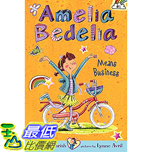 [106美國直購] 2017美國暢銷兒童書 Amelia Bedelia Chapter Book #1: Amelia Bedelia Means Business Paperback