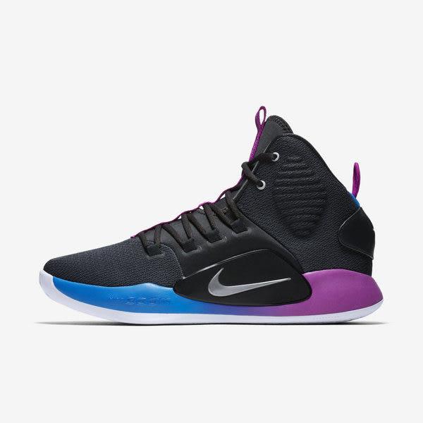 ▲Nike 籃球鞋 Hyperdunk X EP XDR 灰 藍 漸層 高筒 耐磨大底 男鞋 運動鞋 AO7890-002