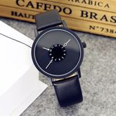 手錶 韓版簡約休閒大氣原宿男女中學生創意手錶男個性概念情侶手錶一對 芭蕾朵朵
