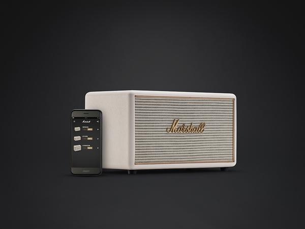 Marshall Stanmore Multi-room system 無限多空間串流系統喇叭-經典白
