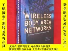 二手書博民逛書店Wireless罕見Body Area Networks (小1