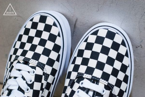 ISNEAKERS Vans 黑白 黑白棋盤格 經典 滑板 滑板鞋 小賈 old Skool era