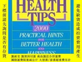 二手書博民逛書店Everyday罕見Health Tips: 2000 Prac