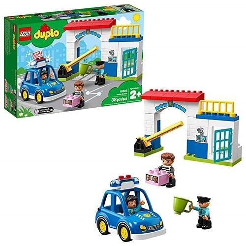 LEGO 樂高 Duplo Town Police Station 10902 Building Blocks (38 Piece)