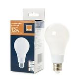 (組)特力屋LED燈絲燈泡12W霧面燈泡色-E27全電壓 3入