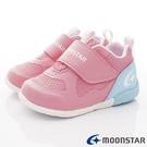 日本Moonstar機能童鞋 3E超輕量學步款 2154粉(寶寶段)