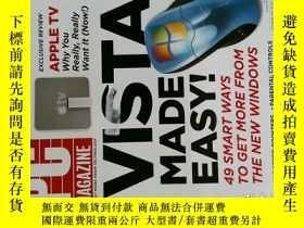 二手書博民逛書店PC罕見Magazine 2007年5月8日 英文個人電腦雜誌 可用樣板間道具雜誌Y114412