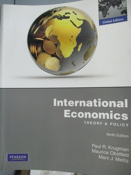 【書寶二手書T7/大學商學_YBG】International Economics-Theory and Policy_