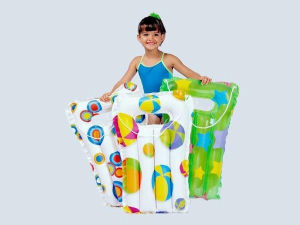 [衣林時尚] INTEX 兒童浮排 3-6歲 71CM X 51CM (可挑圖) (附拉繩)  59160