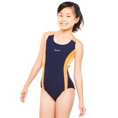 ★奧可那★ 競速橘條紋泳衣