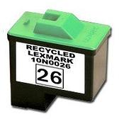 LEXMARK環保墨水匣10N0026/10N0227(26/27)彩色高容量適用X2250/X1185/X1195/X1150/X1140/X75/Z617/Z615/Z515/Z513/Z13/Z23