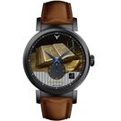 梵谷Van Gogh Swiss Watch小秒盤梵谷經典名畫男錶 C-BLMS-31 書