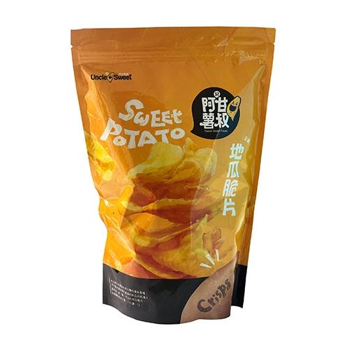 阿甘薯叔地瓜脆片(全素)195g【愛買】