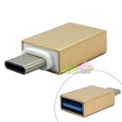 Type-C (USB 3.1) 轉 USB 3.0 OTG 轉接頭((Z580CA/ Zenfone 3 ZE552KL ZE520KL /UX360CA /K556UQ/ X556UR))