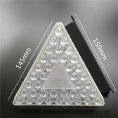 led三角爆閃霧燈尾燈12v24v通用汽車防水超亮改裝警示剎車燈