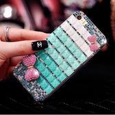 HTC U12+ U11 Desire12 A9s X10 A9S Uplay UUltra Desire10Pro 手機殼 水鑽殼 客製化 訂做 方塊滿鑽 漸變雙蝴蝶結
