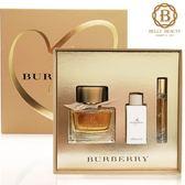 BURBERRY My Burberry 禮盒 32148 (淡香精90ml+身體乳75ml+香水筆7.5ml)《Belle倍莉小舖》