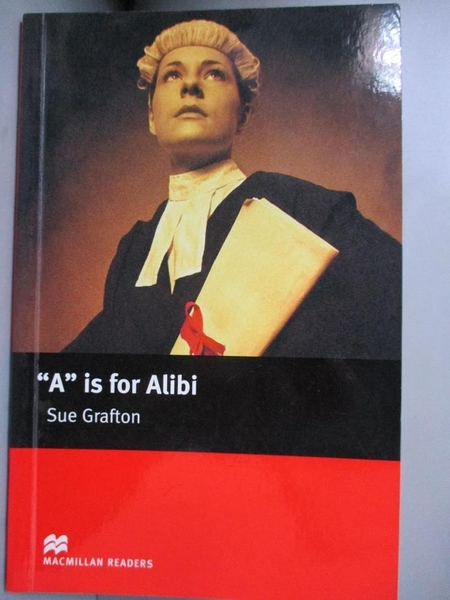 【書寶二手書T9/原文小說_FRD】a is for Alibi Intermediate_Sue Grafton
