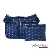 LeSportsac - Standard雙口袋A4大書包-附化妝包 (經典咖啡) 7507P F264