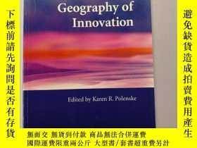 二手書博民逛書店The罕見Economic Geography of Innov