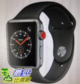 [COSCO代購] W121591 Apple Watch 42 公釐太空灰色鋁金屬錶殼搭配黑色運動型錶帶
