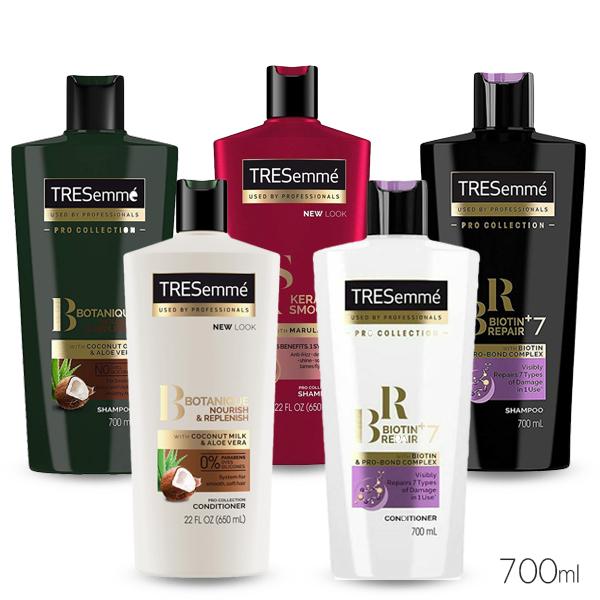 美國 TRESemme 翠絲蜜 專業級 洗髮乳/潤髮乳 700ml 款式可選【PQ 美妝】