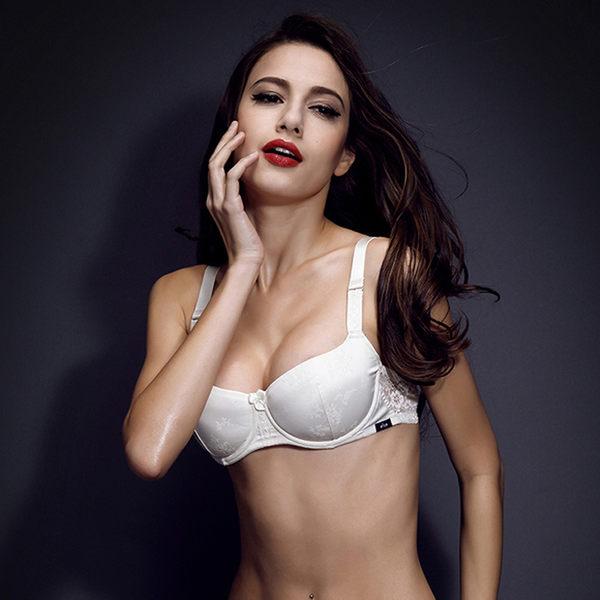 小胸1/2半杯真丝性感 内衣胸罩-12360001