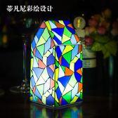 led充電酒吧臺燈創意地中海裝飾服務酒吧桌燈號碼燈桌游燈 LI1497『伊人雅舍』