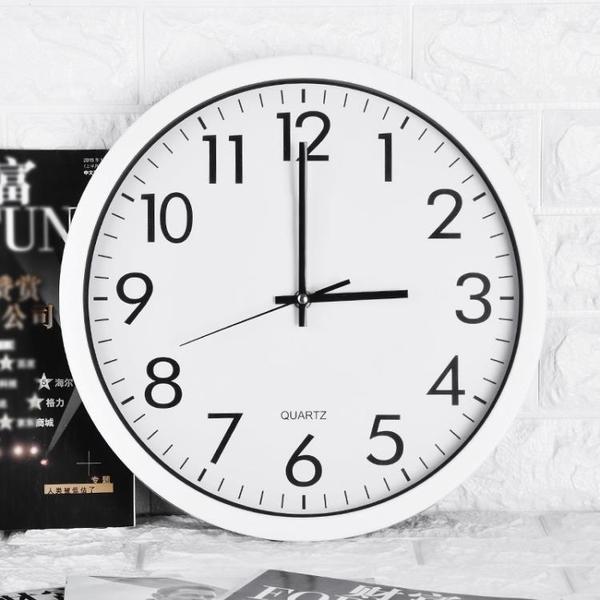 鐘錶掛鐘客廳家用時尚創意電子鐘現代簡約靜音時鐘石英鐘掛錶掛墻 酷男精品館