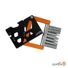 super b 21in1摺疊工具 TB-FD45 /城市綠洲(工具組、折疊、五金小物)