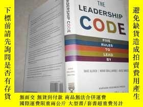 二手書博民逛書店the罕見leadership code five roles