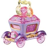 迪士尼夢幻珠寶小汽車 奢華經典馬車 長髮公主