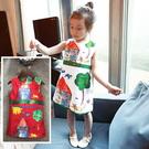 *╮小衣衫S13╭*童趣手繪塗鴉畫背心小...