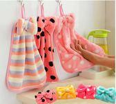 生活雜貨 居家用品 擦手巾 廚房幫手 抹布巾吸水不掉毛 八色 寶貝童衣