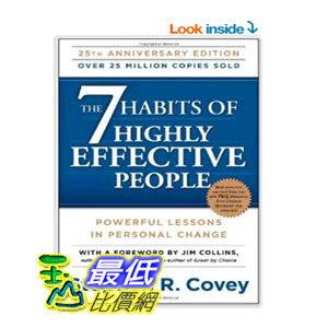 [美國直購] 2014 美國秋季暢銷書排行榜 The 7 Habits of Highly Effective People  $697