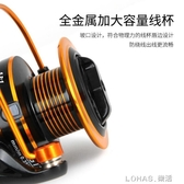 【送100米魚線】金屬頭拋竿輪漁輪紡車輪海竿輪魚線輪磯釣輪 樂活生活館